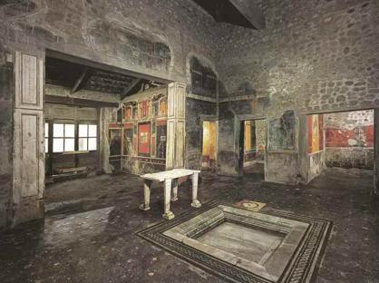 La domus di Lucrezio Frontone