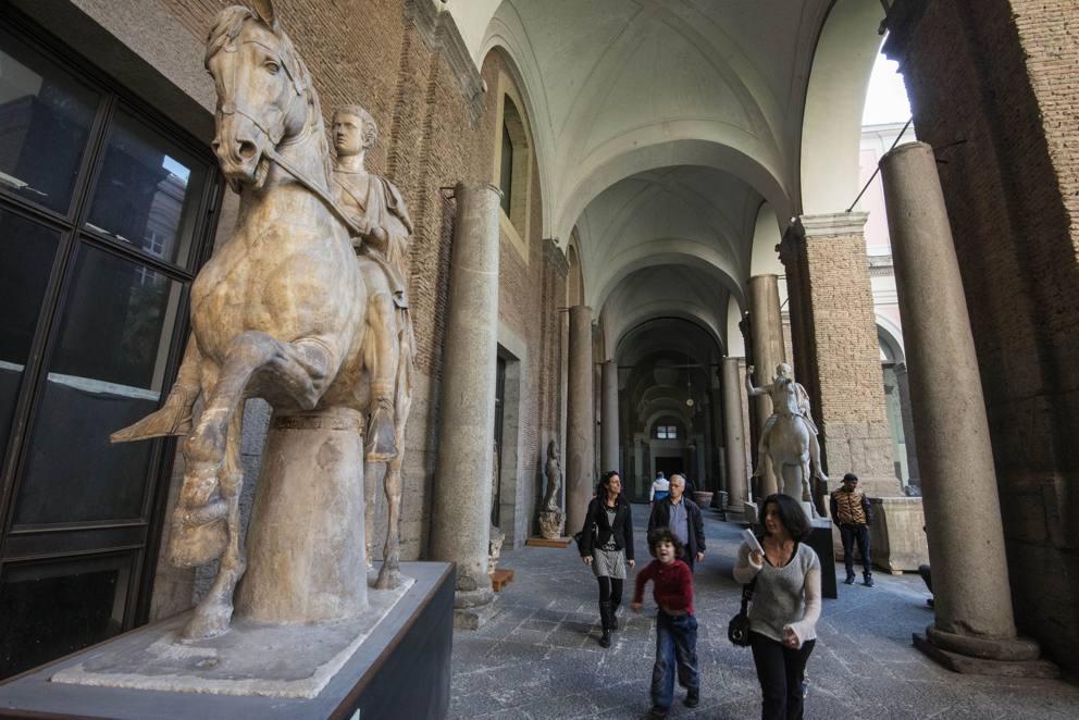 Napoli la domenica record del mann secondo solo al for Ercole farnese 2017